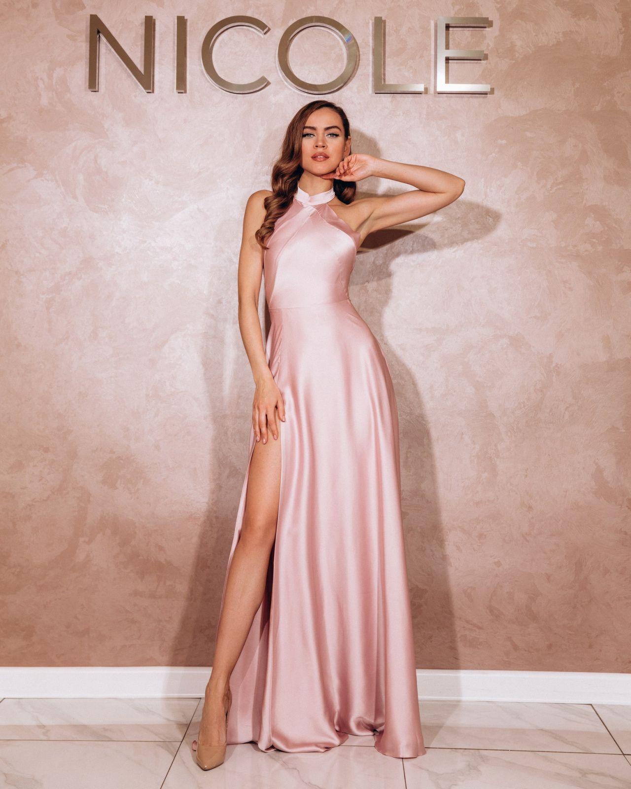 Пудровое Вечернее Платье Купить