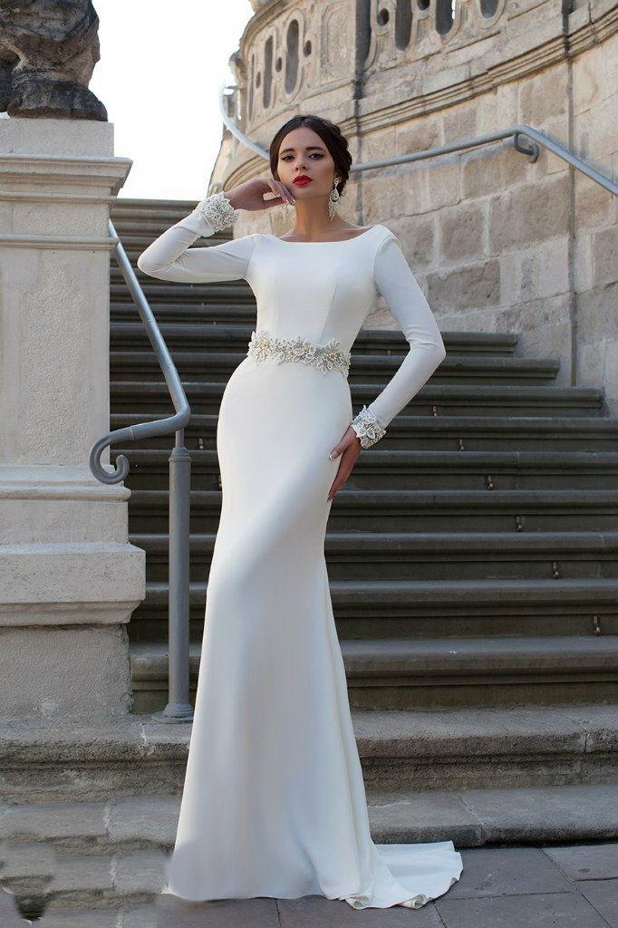 c815f58f318 Свадебное платье рыбка ...
