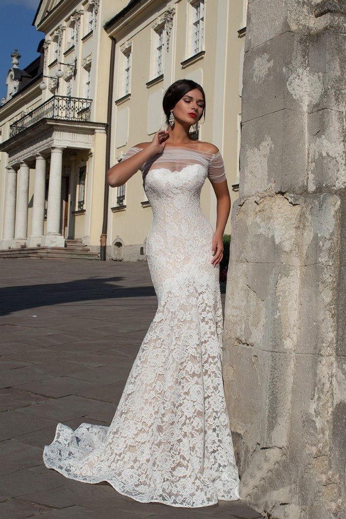 bf93a022182 свадебное платье русалка кружевное свадебное платье