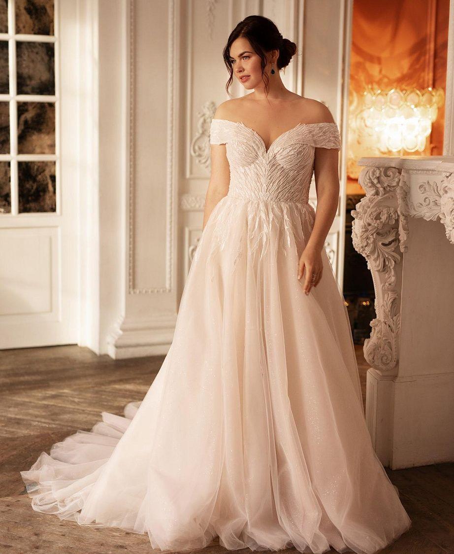 белое платье большого размера купить москва