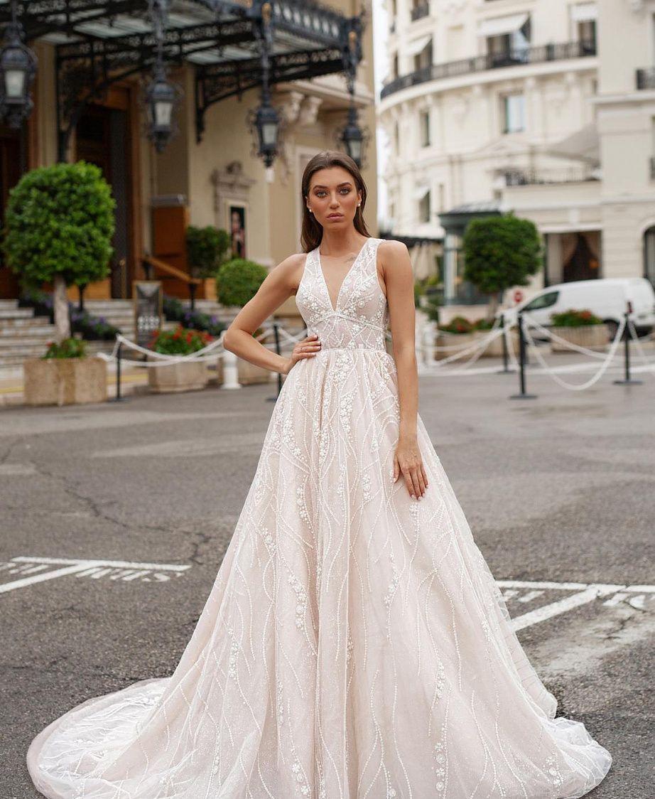 свадебное платье с открытой спиной купить